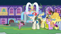 """Tourist Pony """"the dragons at this school"""" S8E11"""