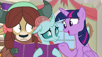 "Twilight ""showcasing an aspect of friendship"" S8E17"
