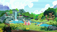 Wide view of Sweet Feather Sanctuary S8E18