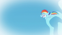 Young Rainbow losing her balance S6E7