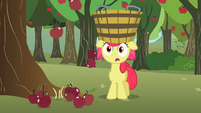 Apple Bloom with mouth agape S02E15