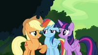 """Applejack """"this don't sound like you"""" S4E04"""
