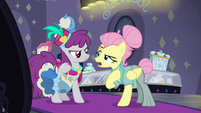 """Fluttershy """"if I had meant 'chevron'"""" S8E4"""