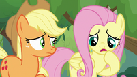 "Fluttershy ""not exactly"" S8E23"