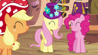 Main ponies in agreement S4E04