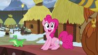 """Pinkie Pie """"ambassador and honorary yak?!"""" S7E11"""