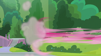 Pinkie Pie zooms off-screen S9E15
