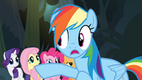 Rainbow '...and the ring Caballeron just stole...' S4E04