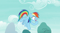 "Rainbow Dash ""I have amnesia!"" S7E23"