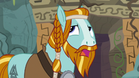 Rockhoof rolls his eyes at Prof. Fossil S8E21