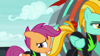 Scootaloo getting more nervous S8E20