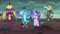 Starlight and Ember having fun together S7E1