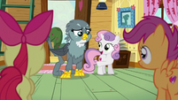 Sweetie Belle --how did it feel when you showed up-- S6E19