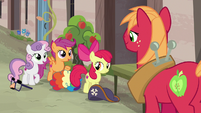 """Sweetie Belle and Scootaloo """"we're here, too!"""" S7E8"""
