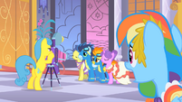 Wonderbolts photoshoot S1E26