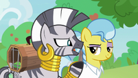 """Zecora """"something here can go terribly wrong"""" S9E18"""