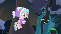 Chrysalis admits she needs Tirek and Cozy S9E8