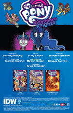 Nightmare Knights issue 2 credits page