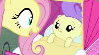 Pegasus Angel talking to Cream Puff S9E18