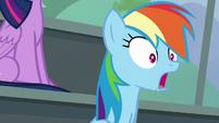 Rainbow Dash watching slack-jawed S8E20