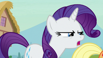 "Rarity ""doesn't feel so good, does it?"" S7E9"