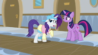 "Rarity ""was your cover blown?"" S8E16"