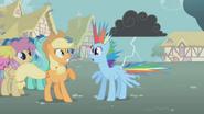 S01E06 Rainbow poparzona piorunem