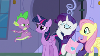 """Spike """"day of her coronation?"""" S9E24"""