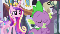 """Spike """"it's easy to make decisions like her"""" S5E10"""