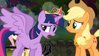 Twilight 'I just can't seem to get these new wings...' S4E02