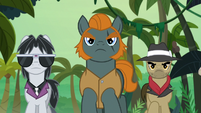 Withers, Rogue, and Biff follow Caballeron S9E21
