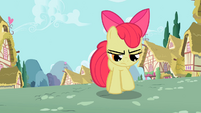 Apple Bloom mad at her failure in bowling S2E6