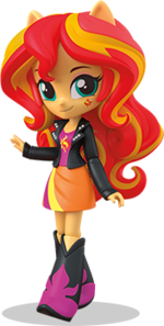 Equestria Girls Minis Sunset Shimmer promo image