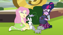 Fluttershy reveals all her animal friends EG3