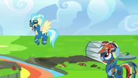 Misty Fly makes fun of Rainbow Dash S6E7