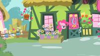 Pinkie Pie spying S1E25