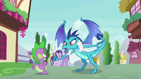 """Princess Ember """"you can't say it about me!"""" S7E15"""