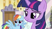 Rainbow Dash and Twilight S2E23