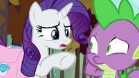 """Rarity """"something wrong with your face?"""" S8E11"""