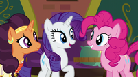 """Rarity """"try and drum up some business"""" S6E12"""