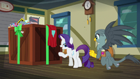 Rarity -hit the right apologetic notes- S9E19