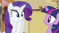 Rarity gasp knowing S2E23