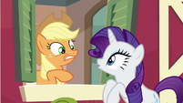 Rarity getting excited S6E10