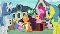 S06E12 Pinkie Pie i Saffron Masala szukają klientów