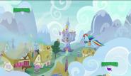 S06E24 Rainbow Dash spieszy do Zamku Księżniczki Twilight Sparkle