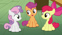 "Scootaloo ""that didn't have anything to do with getting a cutie mark"" S6E4"