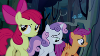 Scootaloo and Sweetie Belle feeling guilty S5E6