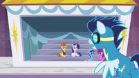 Soarin sees Stormy Flare S5E15