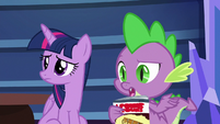 """Spike """"aren't you coming on the train?"""" S9E26"""