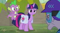 "Spike ""we're not actually here"" S9E5"
